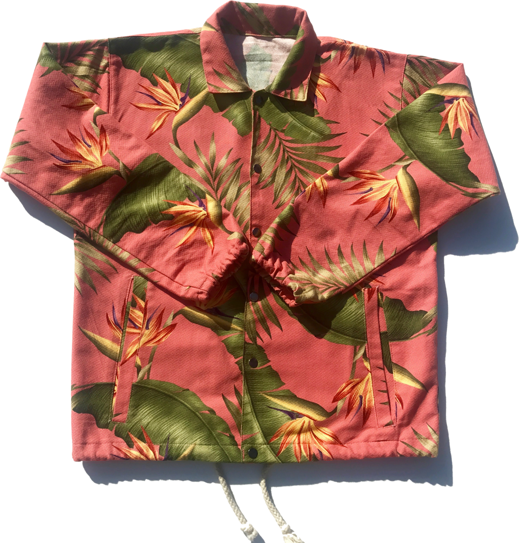 Salmon Paradise | Elijah Jacket | Jungle