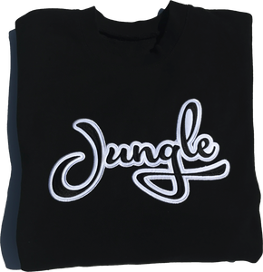 Black | Folded | Nico Sweatshirt | Jungle