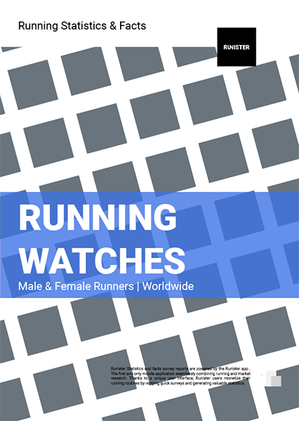 Statistics and Facts - Running Watches