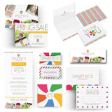 Kids Photographer Branding Collection Photoshop Templates