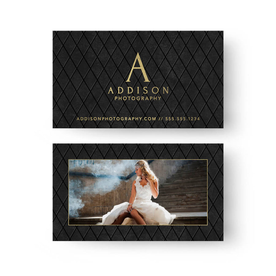Business card photoshop templates photo business card templates dapper business card 3 dollar photoshop templates for photographers reheart Images