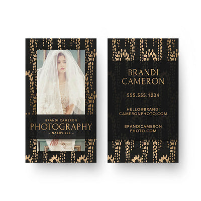 Elegance | Business Card - 3 Dollar Photoshop Templates for Photographers