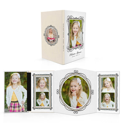 Fun Frames | 4x8 Accordion Book - 3 Dollar Photoshop Templates for Photographers