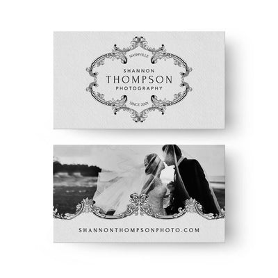 Heirloom | Business Card - 3 Dollar Photoshop Templates for Photographers