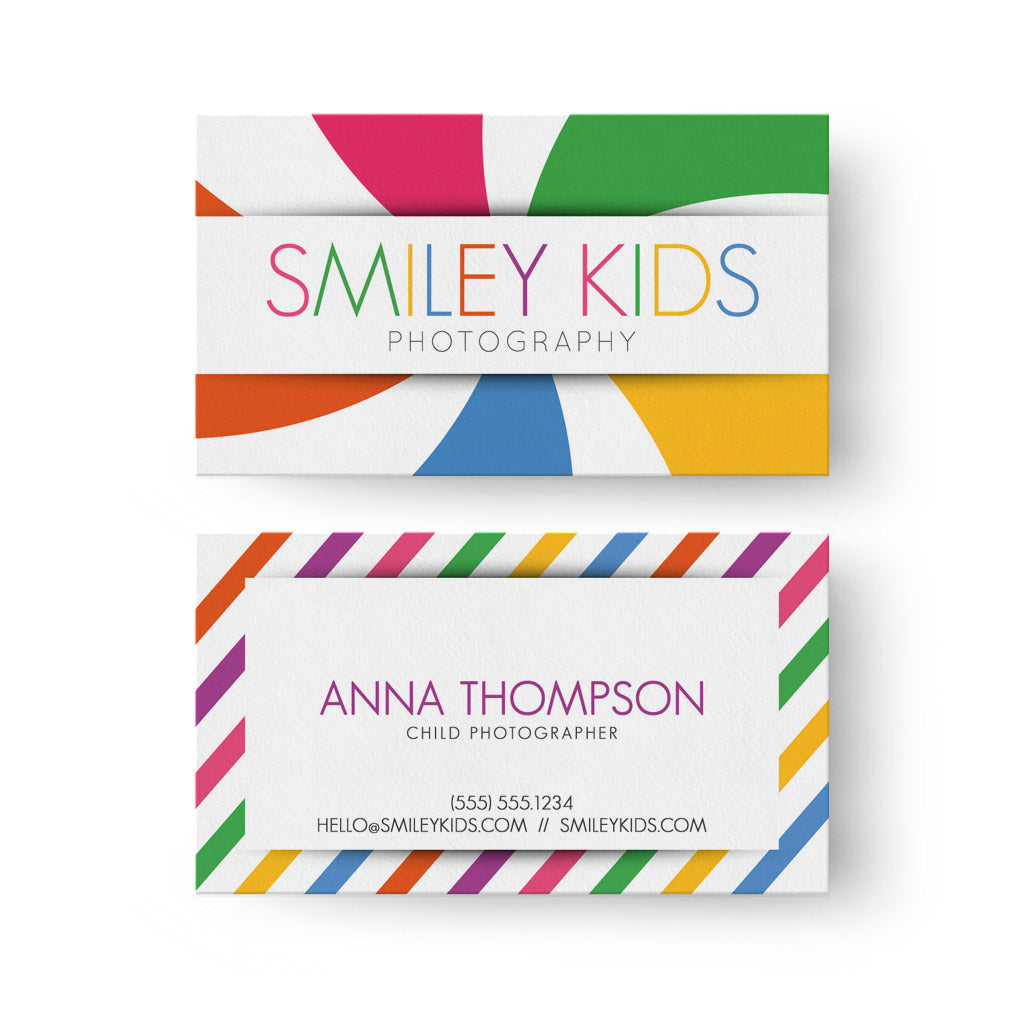Kids business card 3 dollar templates kids business card colourmoves