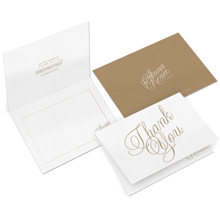 Scripty | Photographer Thank You Card - 3 Dollar Photoshop Templates for Photographers