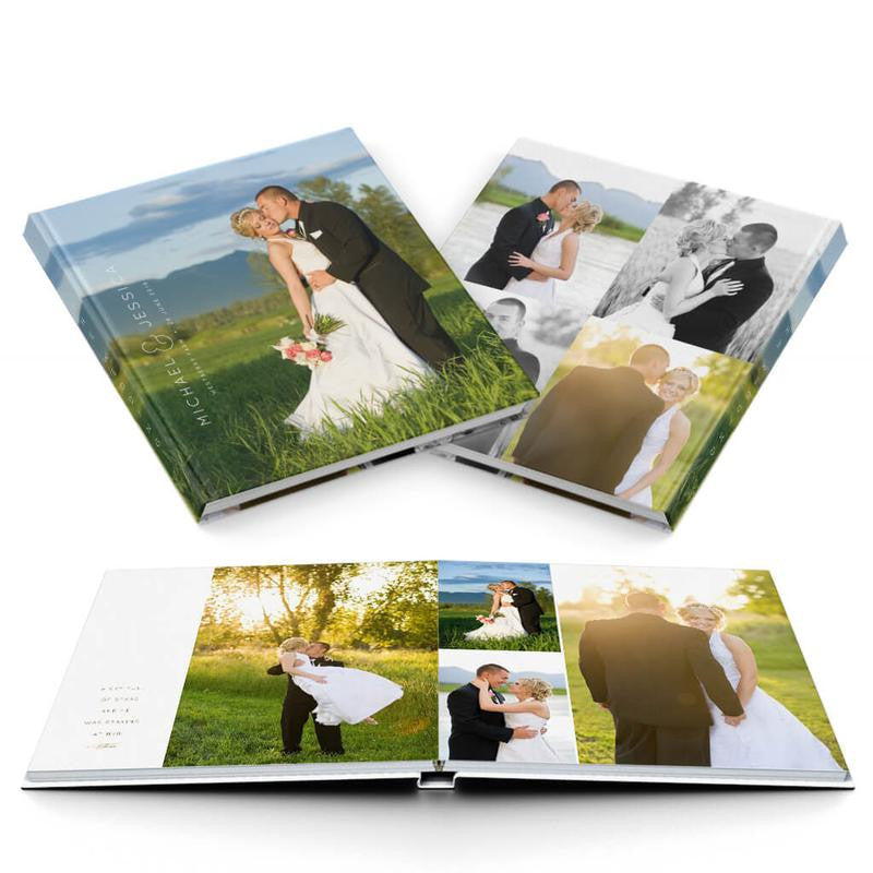 Adore Wedding Album - 3 Dollar Photoshop Templates for Photographers
