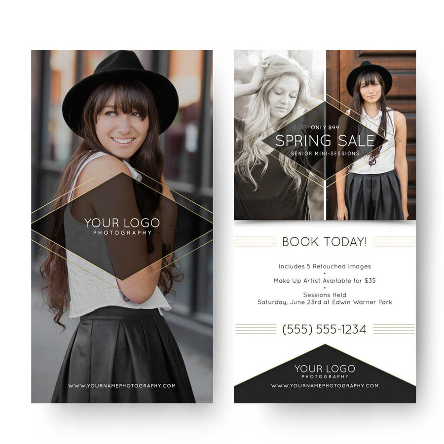 Photography Marketing Postcard Templates | Photo Marketing Templates ...