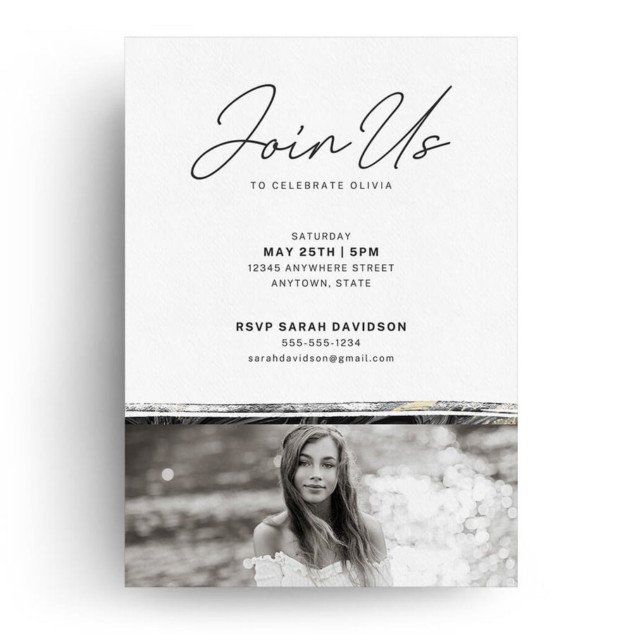 Artful | Senior Graduation Card - 3 Dollar Photoshop Templates for Photographers