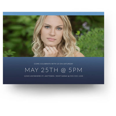 Autograph | Senior Graduation Card - 3 Dollar Photoshop Templates for Photographers