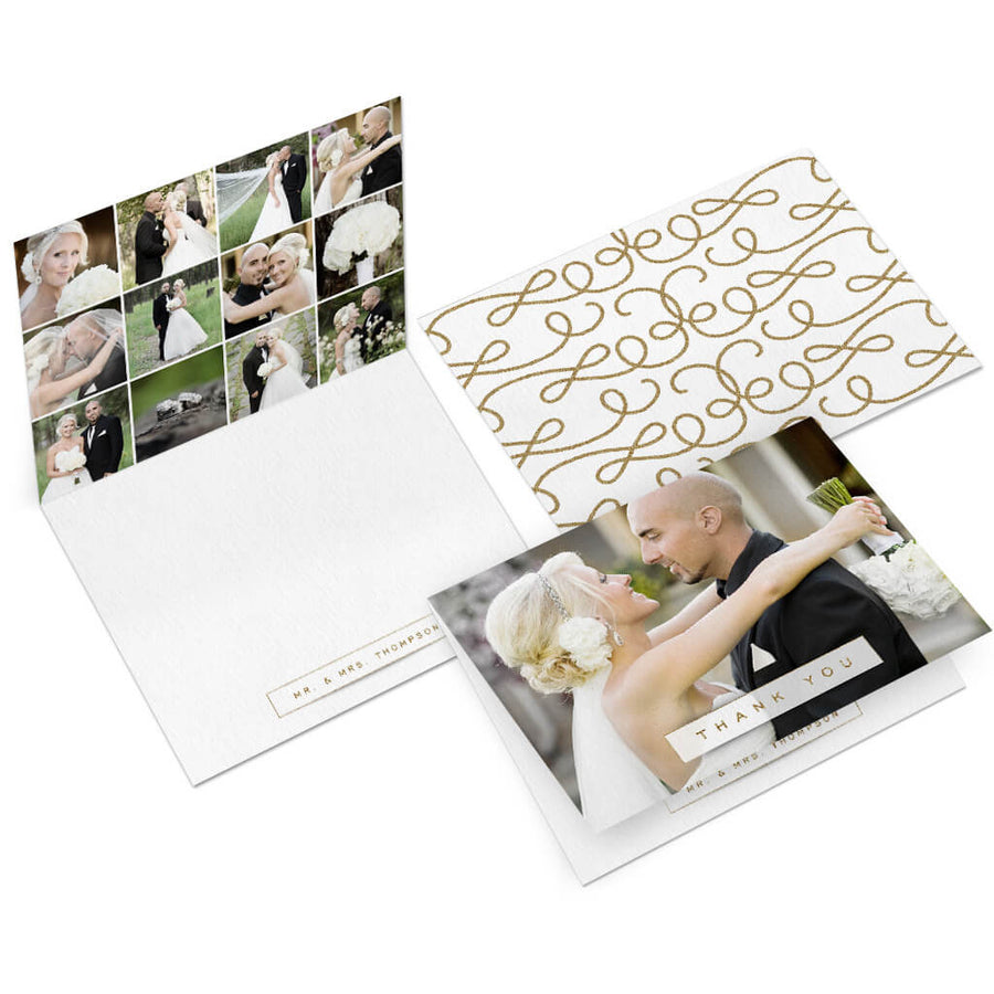 Banner | 5x7 Folding Thank You Card - 3 Dollar Photoshop Templates for Photographers