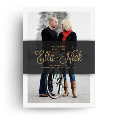 Banner | Save-the-Date Card - 3 Dollar Photoshop Templates for Photographers