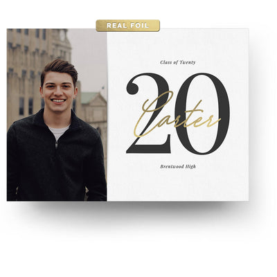 Big Year | Senior Graduation Card - 3 Dollar Photoshop Templates for Photographers
