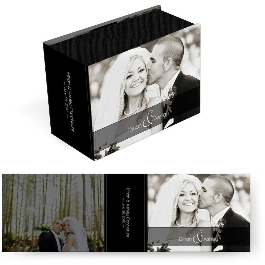 Black Magazine | Horizontal Image Box - 3 Dollar Photoshop Templates for Photographers
