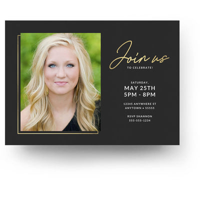 Brackets | Senior Graduation Card - 3 Dollar Photoshop Templates for Photographers