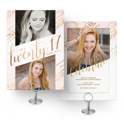 2017 Senior Card Collection - 30 Designs! - 3 Dollar Photoshop Templates for Photographers