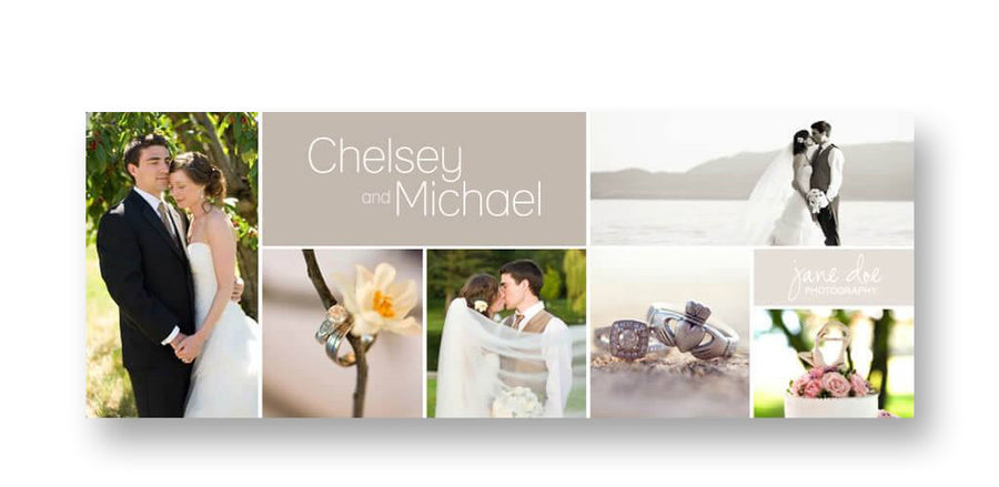 Chelsey | Facebook Cover - 3 Dollar Photoshop Templates for Photographers