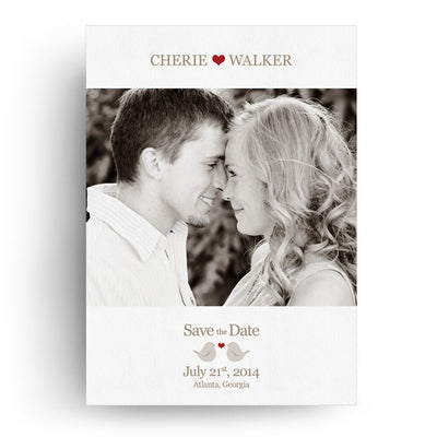 Cherie | Save-the-Date Card - 3 Dollar Photoshop Templates for Photographers