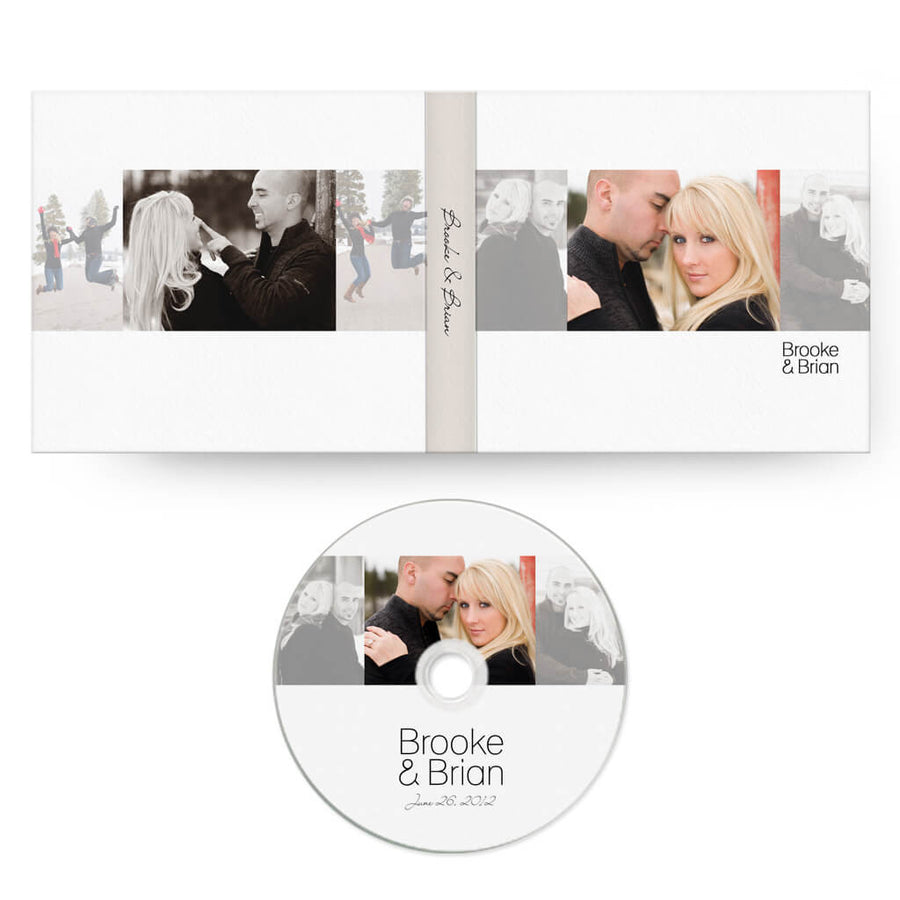 Chic | CD Case + Optional CD Label - 3 Dollar Photoshop Templates for Photographers