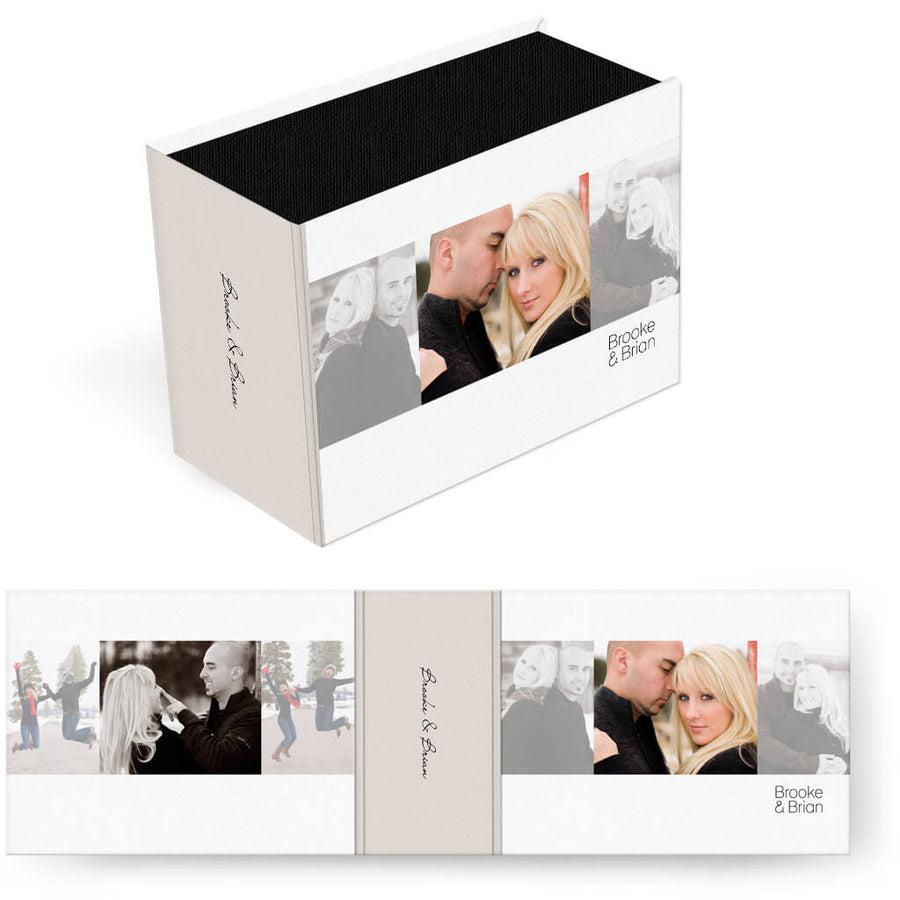 Chic | Horizontal Image Box - 3 Dollar Photoshop Templates for Photographers