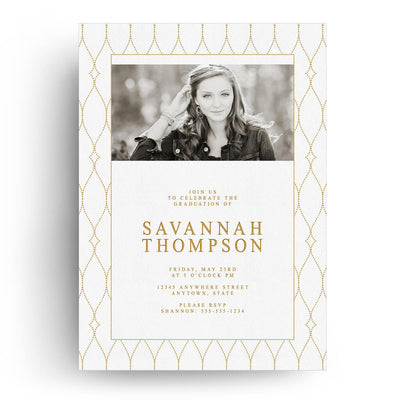 Chic | Senior Graduation Card - 3 Dollar Photoshop Templates for Photographers