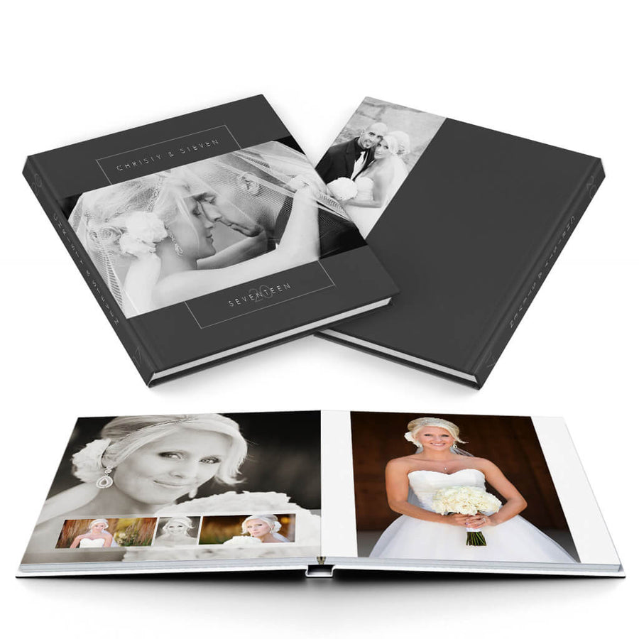 Chic Wedding Album - 3 Dollar Photoshop Templates for Photographers
