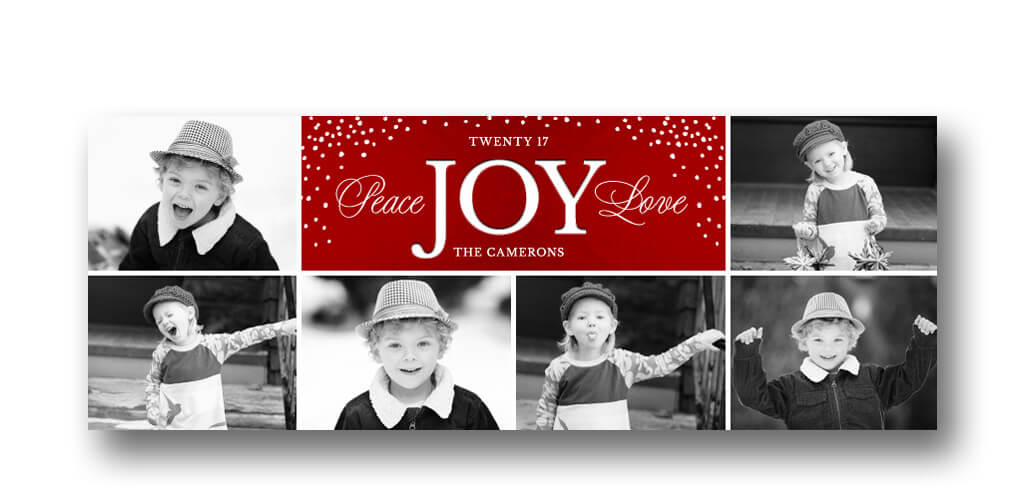 christmas collage facebook cover 3 dollar templates