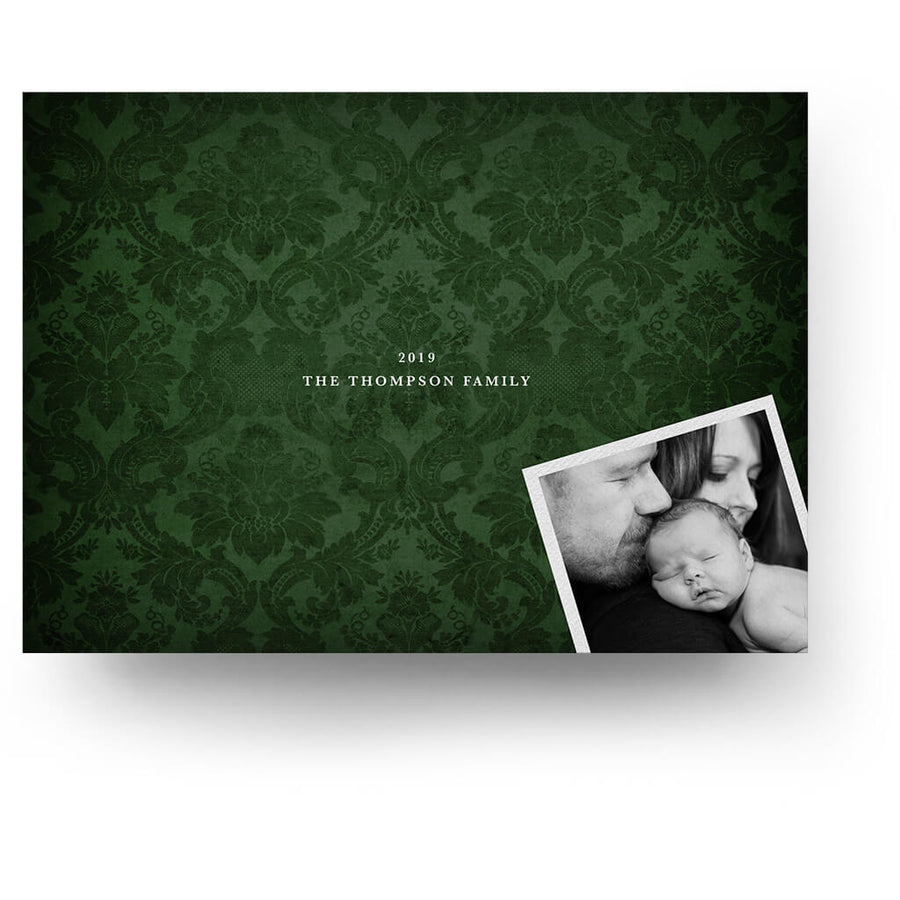 Christmas Greeting | Christmas Card - 3 Dollar Photoshop Templates for Photographers
