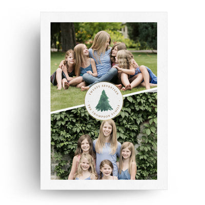 Christmas Wishes | Christmas Card - 3 Dollar Photoshop Templates for Photographers