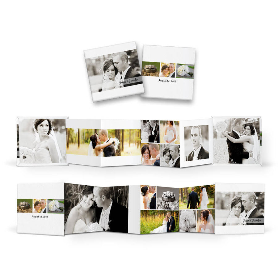 accordion mini book templates for photographers 3 dollar templates