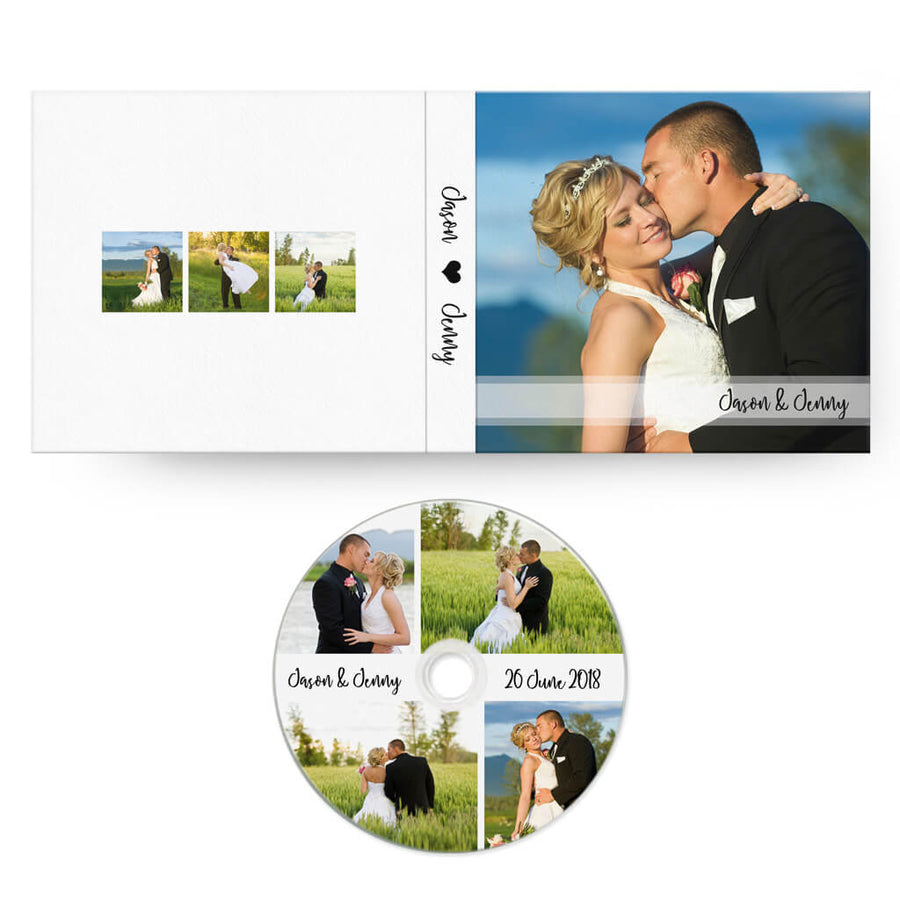 Classic | CD Case + Optional CD Label - 3 Dollar Photoshop Templates for Photographers
