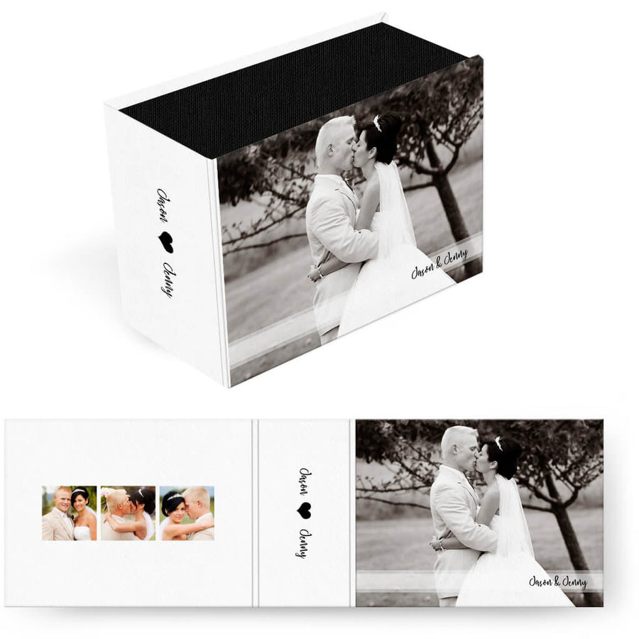Classic | Horizontal Image Box - 3 Dollar Photoshop Templates for Photographers