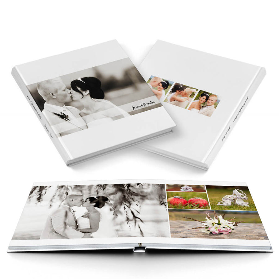 Classic Wedding Album - 3 Dollar Photoshop Templates for Photographers