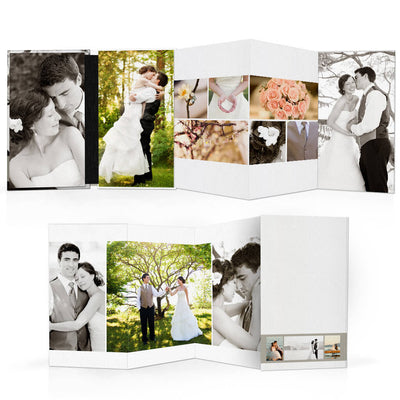Classic II | 4x8 Accordion Book - 3 Dollar Photoshop Templates for Photographers