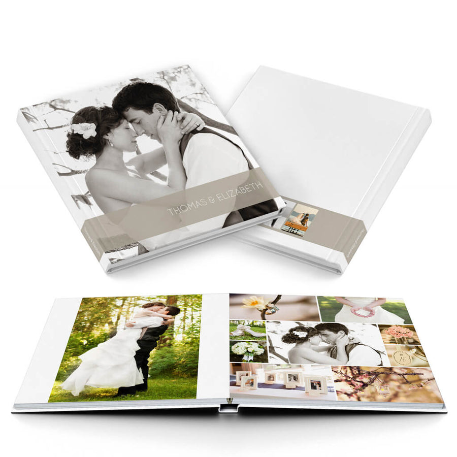 Classic II Wedding Album - 3 Dollar Photoshop Templates for Photographers