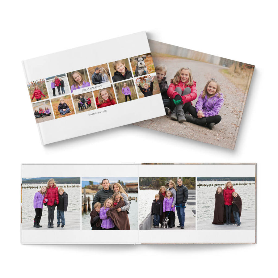 12x8 Classic Family - 3 Dollar Photoshop Templates for Photographers