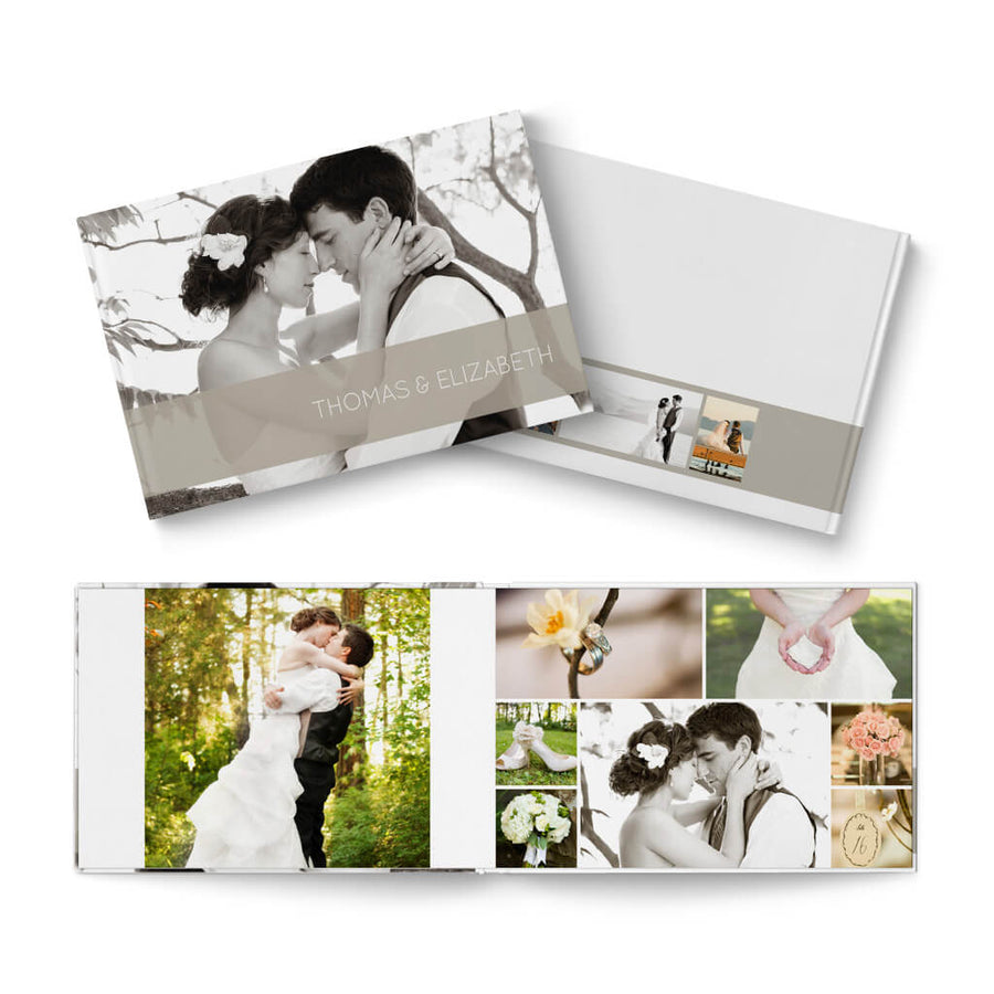 12x8 Classic II Wedding - 3 Dollar Photoshop Templates for Photographers