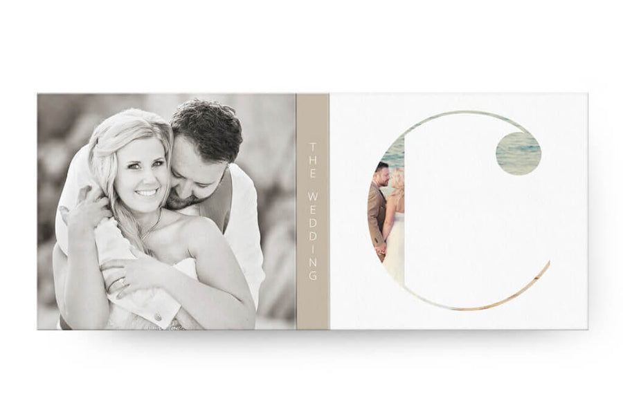 Clean Wedding | USB Case - 3 Dollar Photoshop Templates for Photographers
