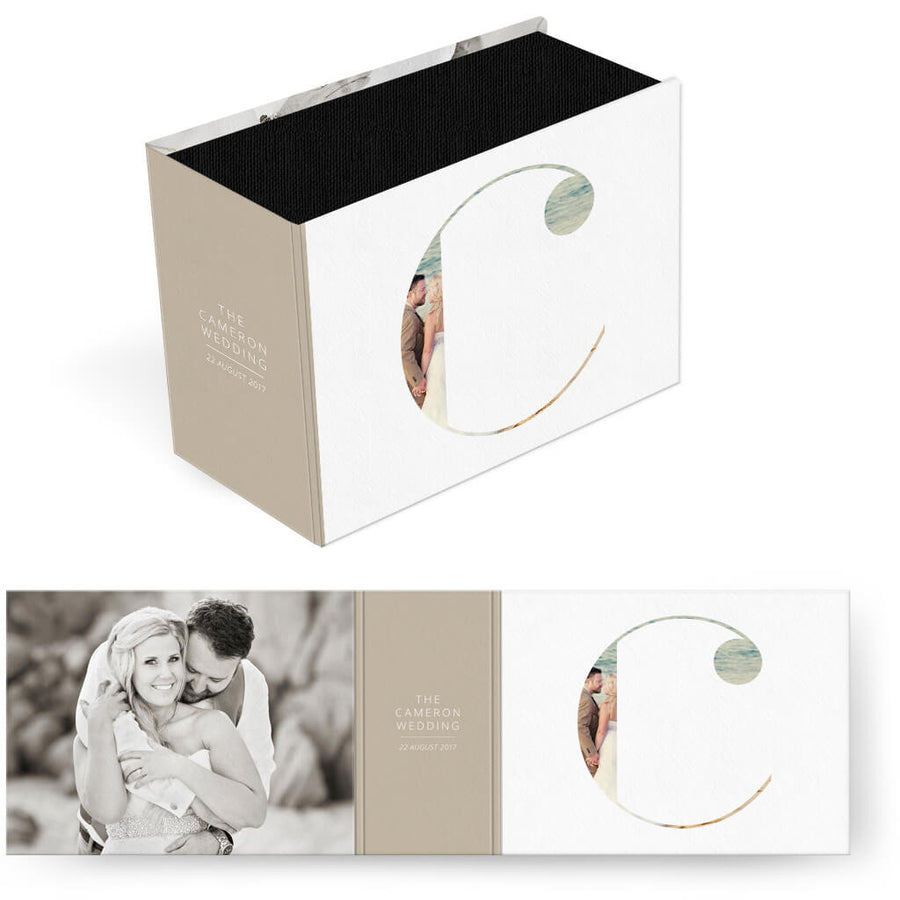 Clean Wedding | Horizontal Image Box - 3 Dollar Photoshop Templates for Photographers