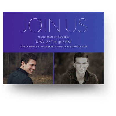 Color Shift | Senior Graduation Card - 3 Dollar Photoshop Templates for Photographers