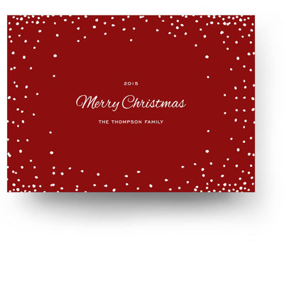 Confetti | Christmas Card - 3 Dollar Photoshop Templates for Photographers