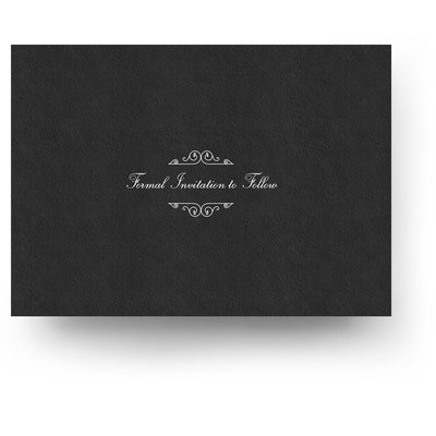 Corner Scrolls | Save-the-Date Card - 3 Dollar Photoshop Templates for Photographers