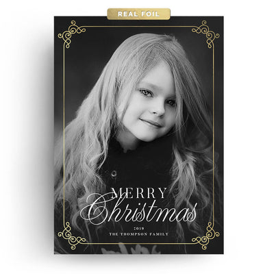 Cute Corners | Christmas Card - 3 Dollar Photoshop Templates for Photographers