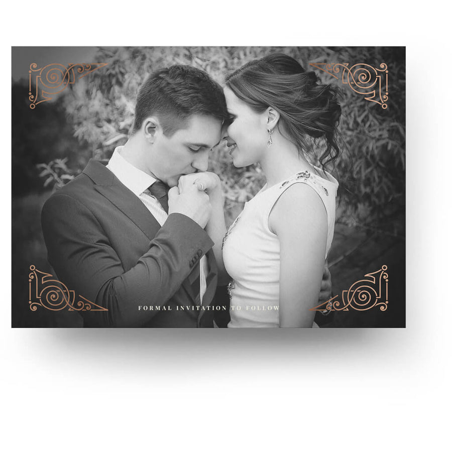 Deco | Save-the-Date Card - 3 Dollar Photoshop Templates for Photographers