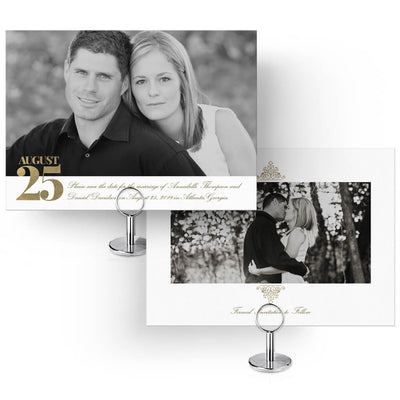 Elegance | Save-the-Date Card - 3 Dollar Photoshop Templates for Photographers