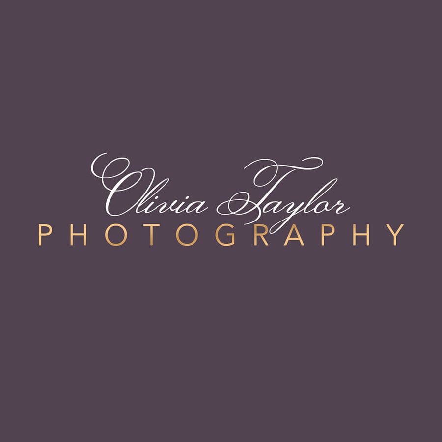 Elegant Logo - 3 Dollar Photoshop Templates for Photographers