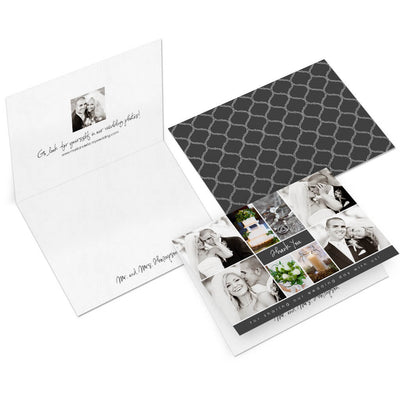 Ella | 5x7 Folding Thank You Card - 3 Dollar Photoshop Templates for Photographers