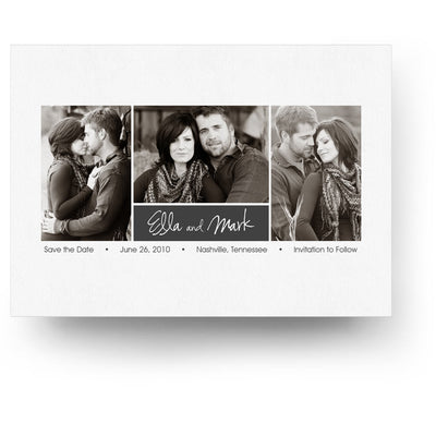 Ella | Save-the-Date Card - 3 Dollar Photoshop Templates for Photographers