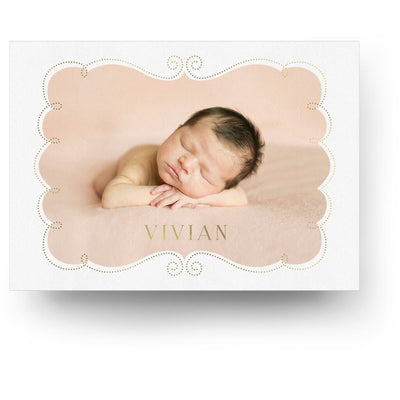 Enchanted | Birth Announcement Card - 3 Dollar Photoshop Templates for Photographers