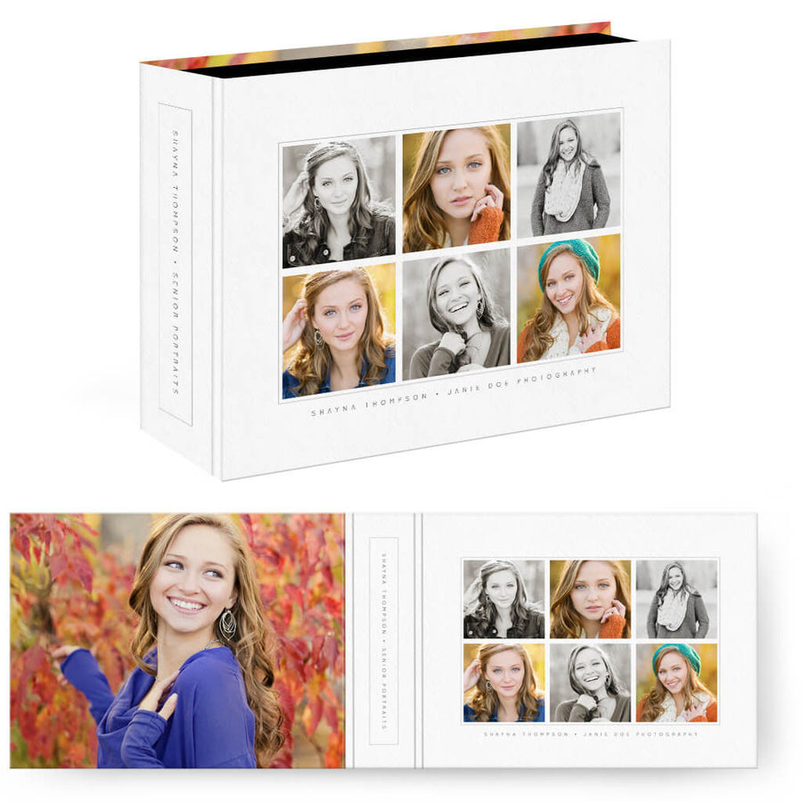 Essentials 1 | Horizontal Image Box - 3 Dollar Photoshop Templates for Photographers